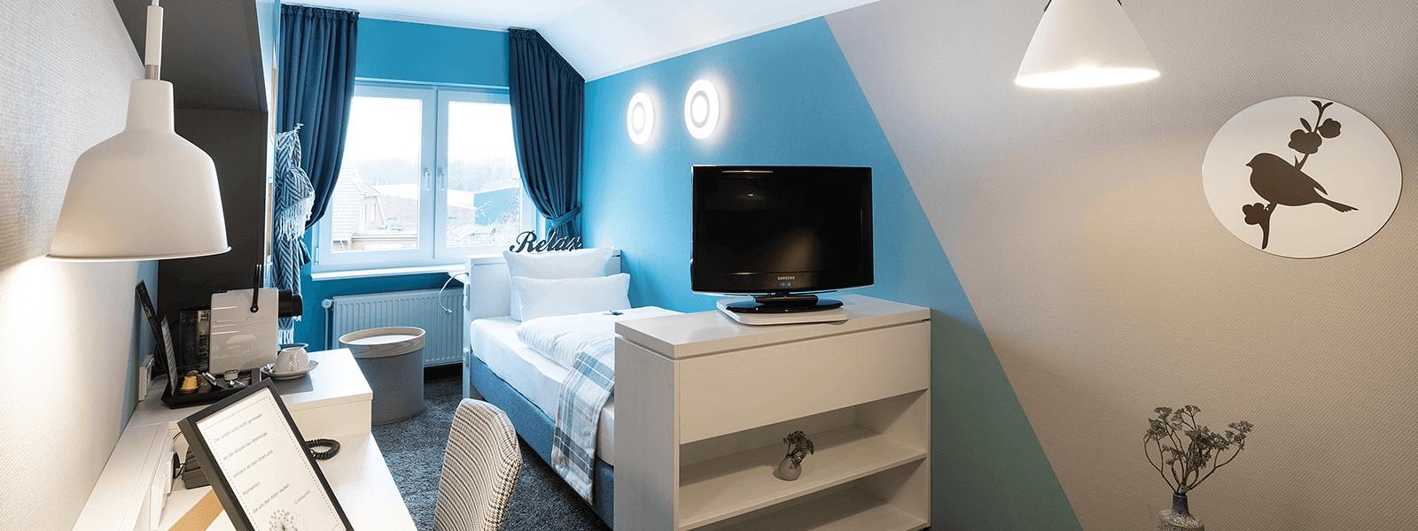 Einzelzimmer Hotel Regina Maris, Hotel Regina Maris, Norden-Norddeich, Nordsee, Ostfriesland, Urlaub zu Zweit, Nordseeurlaub, Urlaub am Meer,