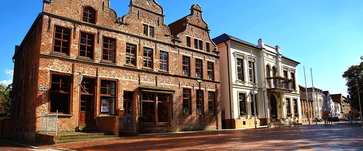 Hotel Regina Maris, Norden-Norddeich, Nordsee, Ostfriesland, Rathaus, Innenstadt Norden, Marktplatz,