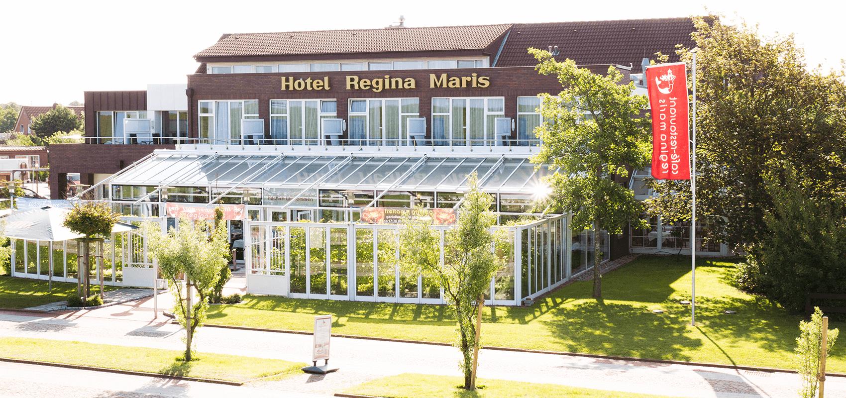 Hotel Regina Maris, Norden-Norddeich, Nordsee, Ostfriesland, Aussenansicht