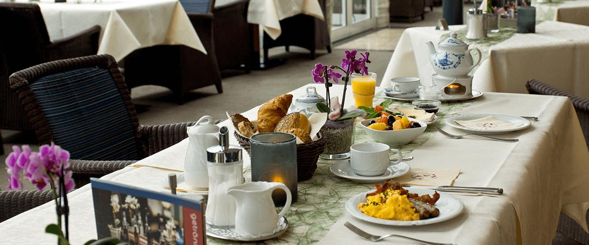 Hotel Regina Maris, Norden-Norddeich, Nordsee, Ostfriesland, Restaurant, Café, Frühstück